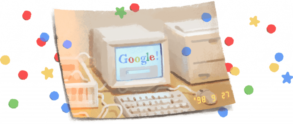 Like My Web Google 21 anos